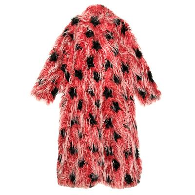 ladybird fur coat red